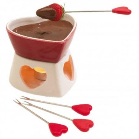 Srdiečkové fondue na Valentína