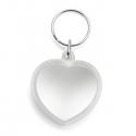 Prívesok na kľúče v tvare srdca