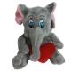 Hovoriaci a cmukajúci sloník