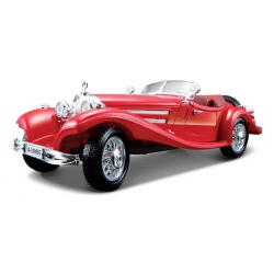 Mercedes Benz 500 K Roadster model Bburago 1/18
