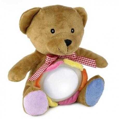 Plyšový medvedík s dotykovou lampou