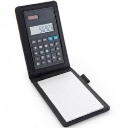 Zápisník s kalkulačkou