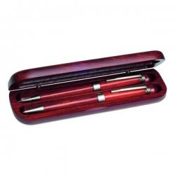 Drevené pero a roller v darčekovej krabičke
