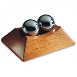 Čínske antistresové guličky v drevenom stojane