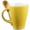 Hrčnek srdiečko pre zamilovaných žltý