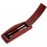 Luxusné kovové guľôčkové pero a roller v drevenej krabičke