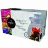 Kvitnúci čaj biely darčekový set