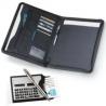 Blok na dokumenty, kalkulačka vizitkár, pero