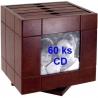 Drevený album na 60 CD