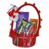 Valentínsky košíček plný sladkostí