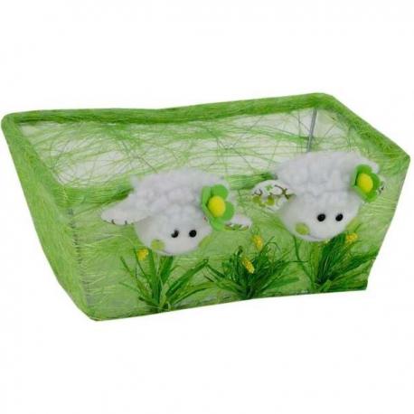 Jarný košíček ovečky