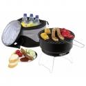 Prenosný gril s chladiacou termo taškou