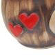 Keramický hrnček Z lásky so srdiečkami