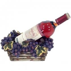 Miska na víno s motívom hrozna