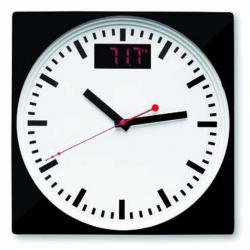 Digitálna váha s analógovými hodinami