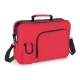 Červená taška pre ženu