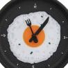 Kuchynské hodiny panvica s volským okom