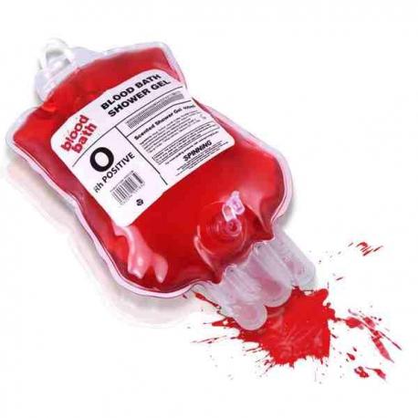 Sprchový gél - krvavá infúzia s vôňou višne