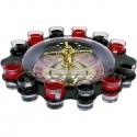Ruleta s pohárikmi pre dvanásť hráčov