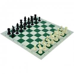 Veľké šachy v kruhovom darčekovom obale