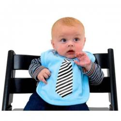 Podbradník s kravatou pre chlapcov