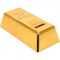 Pokladnička zlatá tehlička