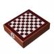 Kazeta na víno so šachovnicou