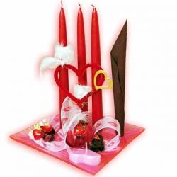 Valentínske dekorácie LOVE