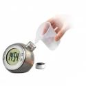 Stolové LCD hodiny na vodný pohon