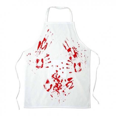 Zástera s krvavými škvrnami - krvavá zástera