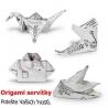 Naučte sa skladať origami servítky