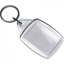 Prívesok na kľúče - transparentný