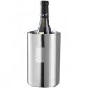 Dvojstenná nerezová nádoba na chladenie vína