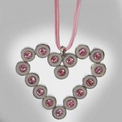CIRCLE - náhrdelník srdiečko