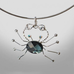 SPIDER - náhrdelník s pavúkom