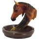 Popolník v tvare koňa