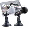Korenička a soľnička v tvare mikrofónu