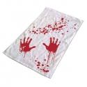 Krvavý uterák do kúpeľne