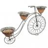 Veľký bicykels s troma kvetináčmi