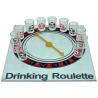 Sklenená alkoholová ruleta  so šípkou