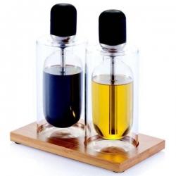 Veľké pipety na olej a ocot - sklo