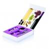 Ružová  darčeková kazeta na víno pre ženy