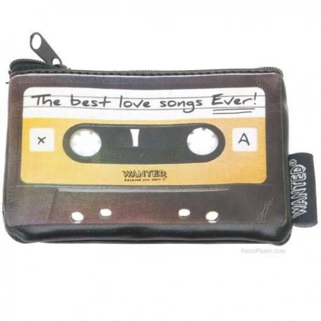 Retro peňaženka kazeta