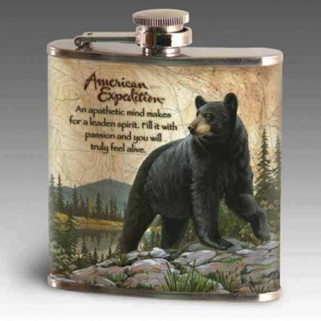 Ploskačka American Expedition BLACK BEAR