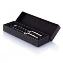 Čierne luxusné pero s rollerom v darčekovom balení
