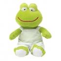 Plyšová žaba v montérkach