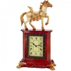 HORSE veľké luxusné hodiny do kancelárie