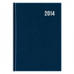Obchodný denný diár 2014 - modrý