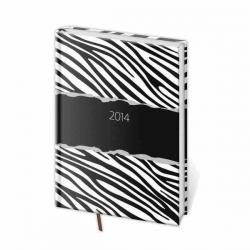Denný diár zebra 2014
