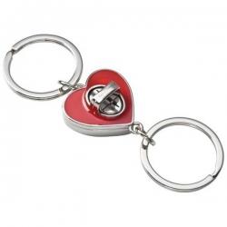Oddeliteľné srdiečko - prívesok na kľúče
